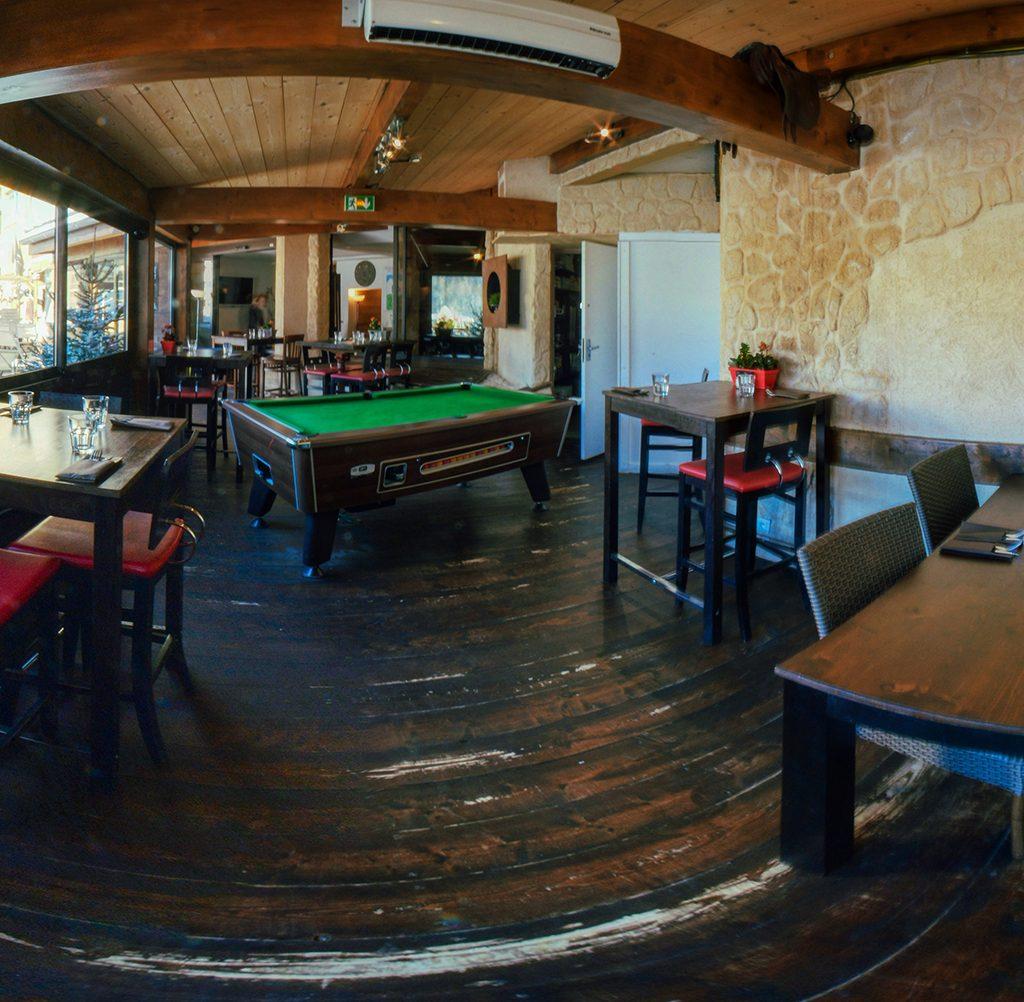 bar et restaurant - Avalanche sur Isola 2000
