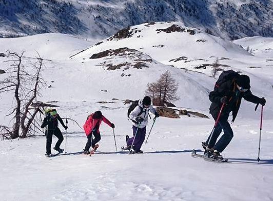Ski de randonné - Isola 2000