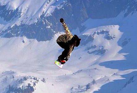 TONY'S SNOWLAND - piste de snowboard sur isola 2000