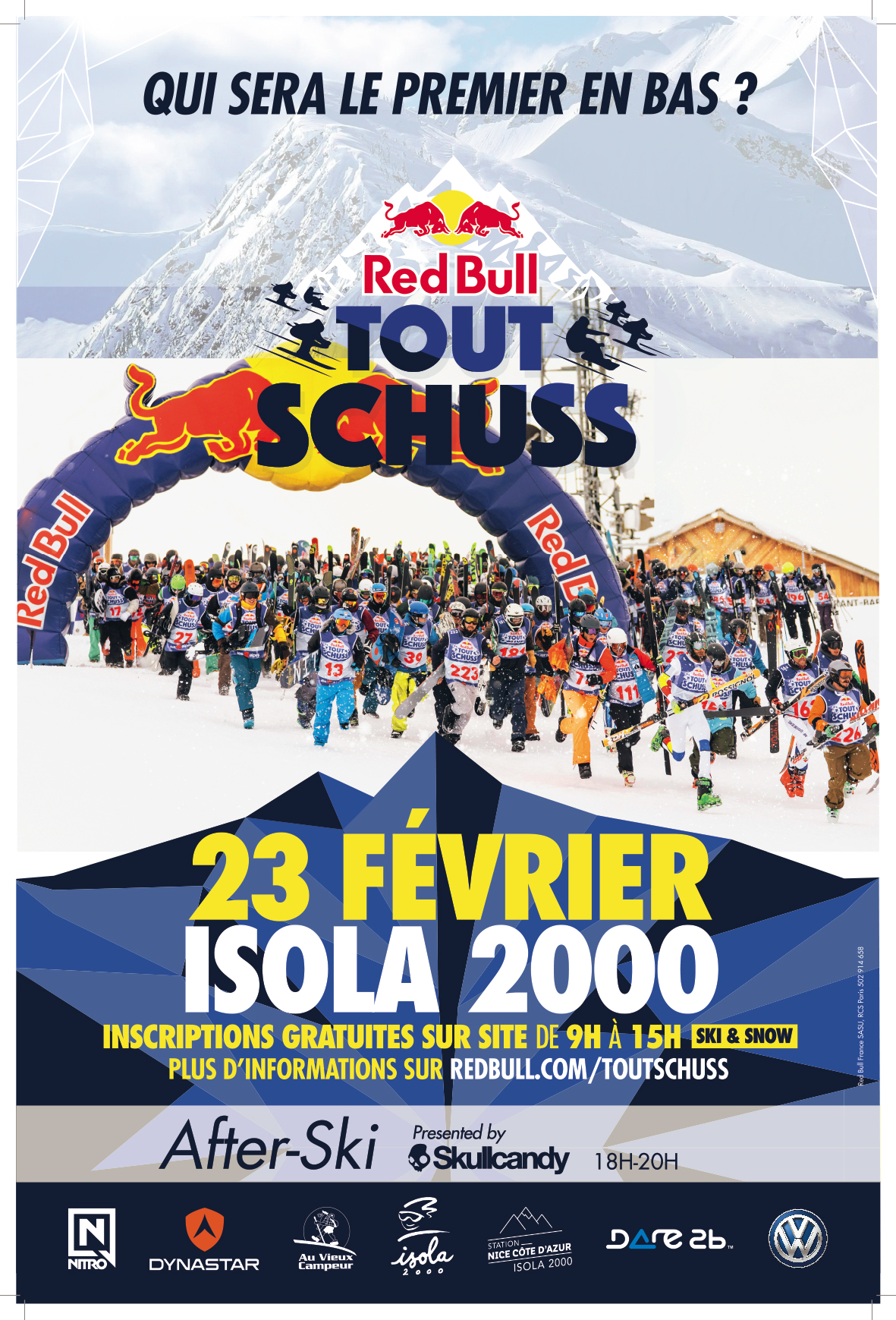 Red Bull - Tout Schuss sur Isola 2000