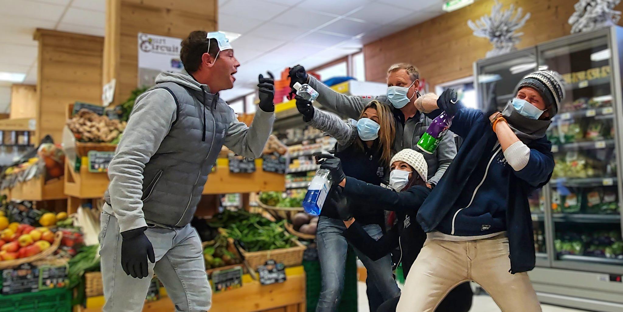 Sherpa alimentation - supermarché sur isola